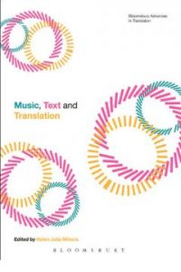 Music, Text and Translation (Bloomsbury Advances in Translation)