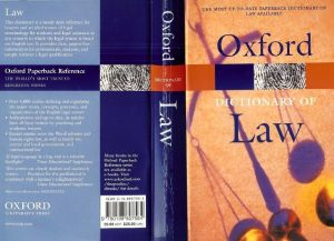 Oxford-Dictionary-of-Law-300x217 Oxford Dictionary of Law, Edition 2003