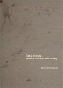 8957750e013eafa-217x300 Last Steps : Maurice Blanchot's Exilic Writing