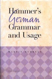 Download: Hammer's German Grammar and Usage (4th edition)