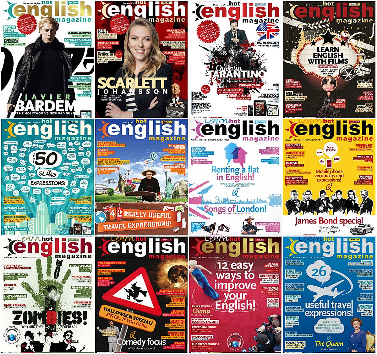 LEARN HOT ENGLISH MAGAZINE PDF DOWNLOAD