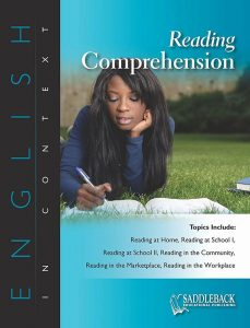 Reading Comprehension- English in Context