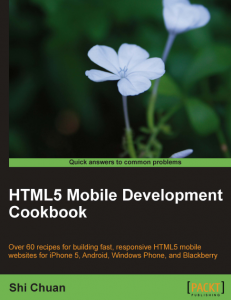 0108260-231x300 HTML5 Mobile Development Cookbook