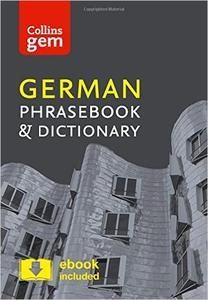 Collins Gem: German Phrasebook and Dictionary