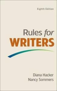 Download: Rules for Writers, 8th edition