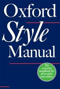 Download: The Oxford Style Manual