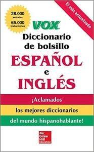 Download: VOX Diccionario de bolsillo español y inglés