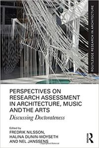 Download: Perspectives on Research Assessment in Architecture, Music and the Arts : Discussing Doctorateness