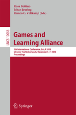 Download: Games and Learning Alliance: 5th International Conference