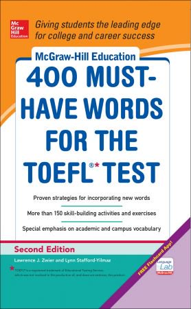 download McGraw-Hill Education 400 Must-Have Words for the TOEFL, 2nd Edition