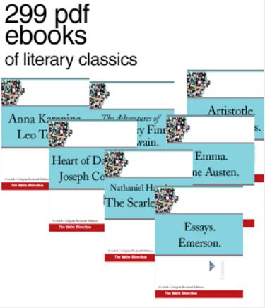 downkoad 299 E-books of Classical English Literature