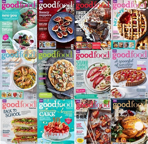 download BBC Good Food Middle East - Full Year 2017 Collection