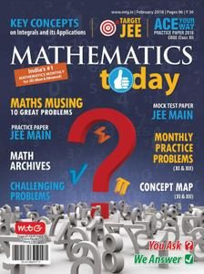 download Mathematics Today - February 2018