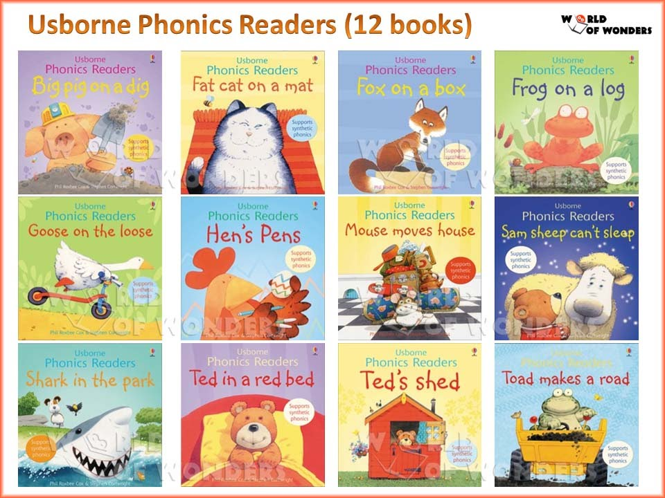 Series] Stories Usborne Phonics Readers (pdf+mp3) - ebooksz