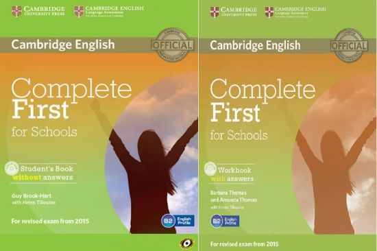 Complete-First-for-Schools-Students Complete First for Schools: Student's Book + Workbook (pdf+CD)