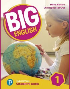 ENGLISH COURSE : Big English • Level 1 •Student's Book +CD (2017)