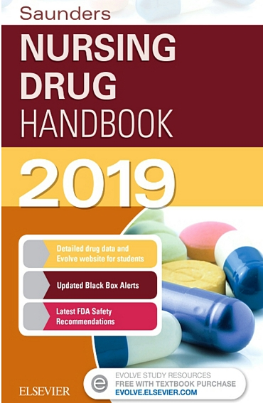 Saunders-Nursing-Drug-Handbook-2019 Saunders Nursing Drug Handbook 2019