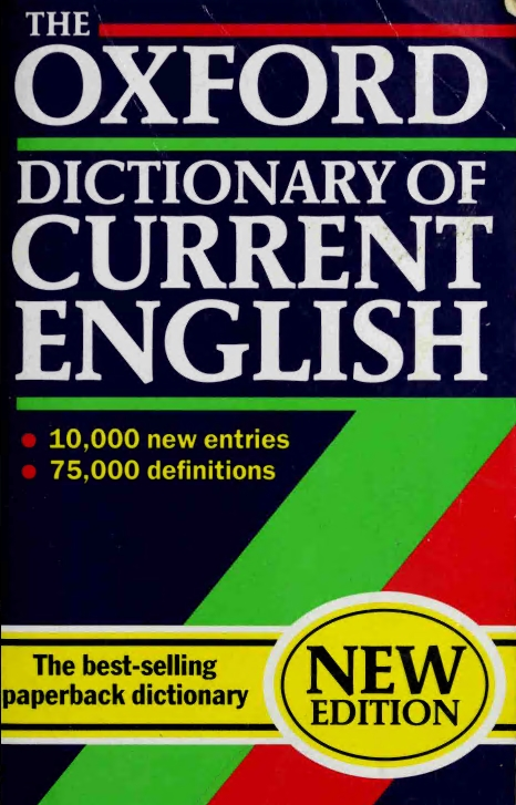 download The Oxford Dictionary of Current English