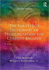 download The Routledge Dictionary of Pronunciation for Current English