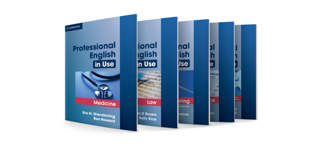 [Series] Professional English in Use: ICT, Finance, Medicine, Marketing, Law