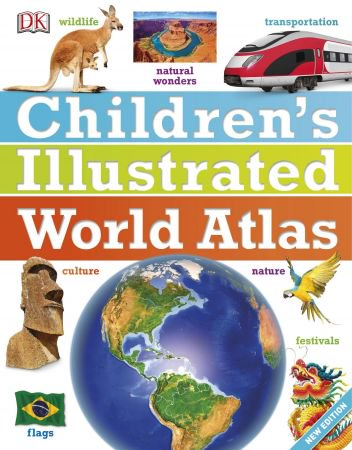 Childrens-Illustrated-World-Atlas-New-Edition Children's Illustrated World Atlas, Edition 2017