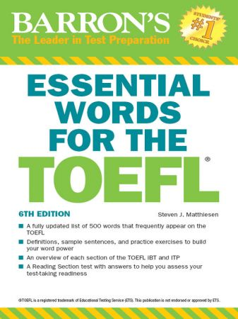 Essential-Words-for-the-TOEFL Essential Words for the TOEFL, Edition 2018