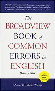 download The Broadview Book of Common Errors in English