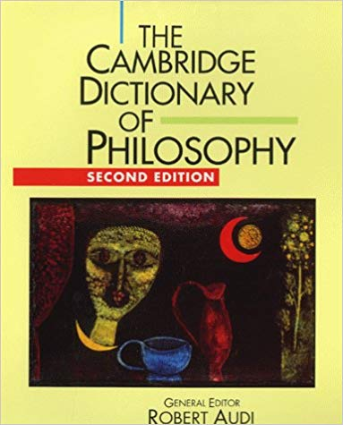 The-Cambridge-Dictionary-of-Philosophy The Cambridge Dictionary of Philosophy, Second Edition