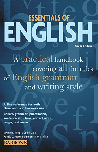 download Barron's, Essentials of English, Sixth Edition