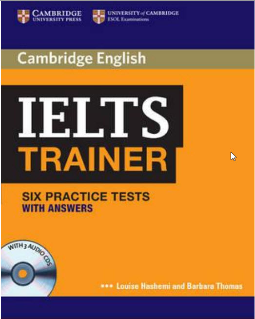 Cambridge IELTS Trainer with Answers (pdf+3 CDs)