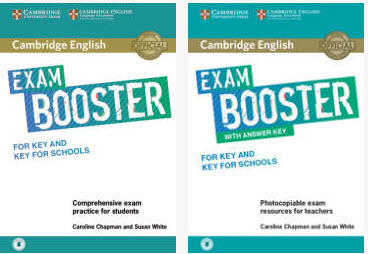 Cambridge English Exam Booster for Key and Key for Schools with answers (book+Audio)