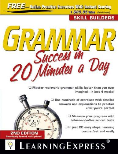 Grammar-Success-in-20-Minutes-a-Day Grammar Success in 20 Minutes a Day  (2010)