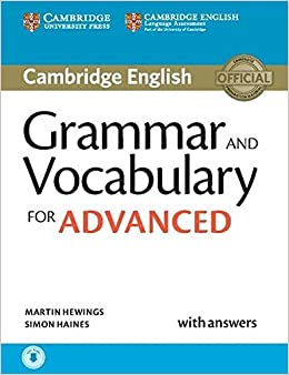 Grammar and Vocabulary for Advanced Book