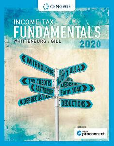 Income Tax Fundamentals 2020 Ed 38