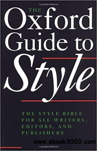 The-Oxford-Guide-to-Style-1 The Oxford Guide to Style  (2002)