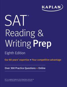 SAT-Reading-and-Writing-Prep-231x300 Kaplan: SAT Reading & Writing Prep, Eighth Edition 2020