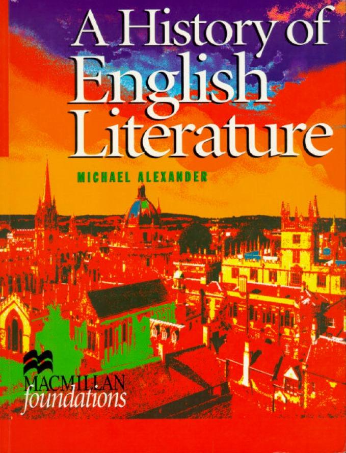 A-History-of-English-Literature A History of English Literature