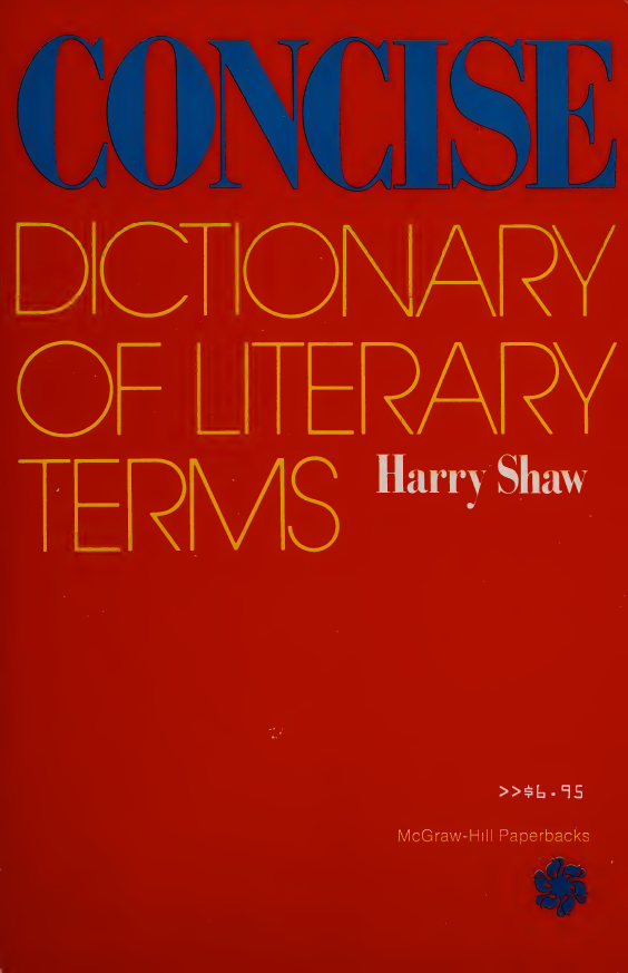 Concise-Dictionary-of-Literary-Terms Concise Dictionary of Literary Terms