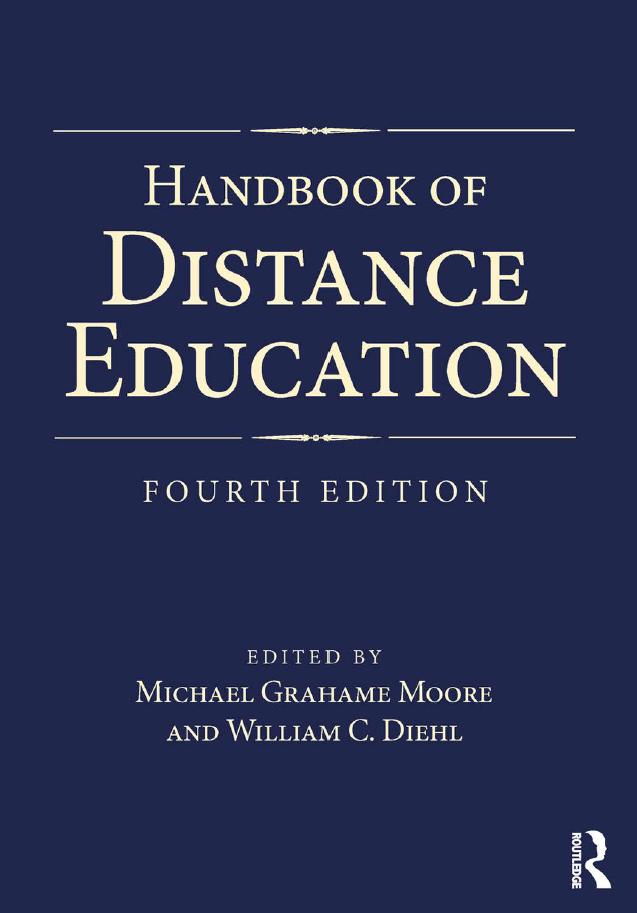 HANDBOOK-OF-DISTANCE-EDUCATION-FOURTH-EDITION HANDBOOK OF DISTANCE EDUCATION, FOURTH EDITION (2019)