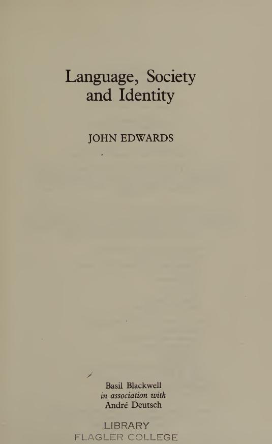 Language-Society-and-Identity Language, Society and Identity