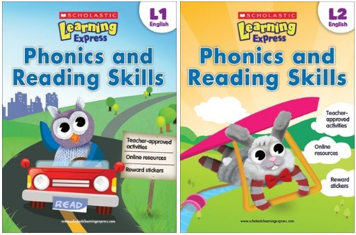 Phonics-and-Reading-Skills Scholastic Learning Express: Phonics and Reading Skills Level 1-2