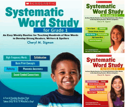 [Series] Systematic Word Study for Grade, 1, 2-3, 4-6