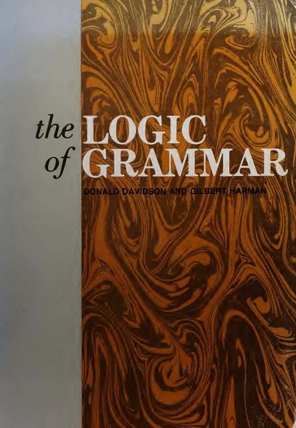 THE-LOGIC-OF-GRAMMAR THE LOGIC OF GRAMMAR