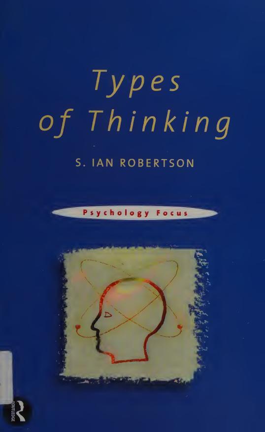 Types-of-Thinking Types of Thinking