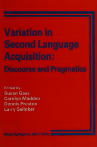 Variation-in-Second-Language-Acquisition-Volume-I-Discourse-and-Pragmatics-199x300 Variation in Second Language Acquisition, Volume I: Discourse and Pragmatics