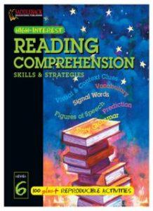 Reading-Comprehension-Skills-Strategies-Level-6-218x300 Reading Comprehension Skills & Strategies Level 6