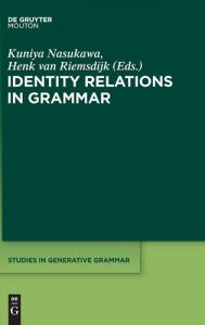 Identity-Relations-in-Grammar-Studies-in-Generative-Grammar-189x300 Identity Relations in Grammar (Studies in Generative Grammar)