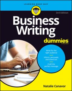 Business-Writing-For-Dummies-3rd-Edition-239x300 Business Writing For Dummies, 3rd Edition (2021)