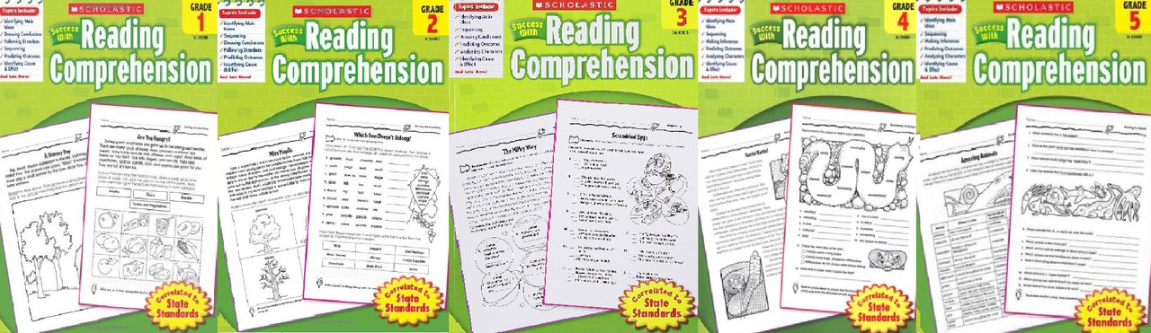 Success with Reading Comprehension (1-2-3-4-5)