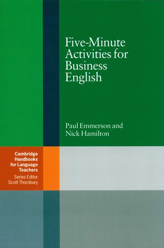 Five-Minutes Activities for Business English